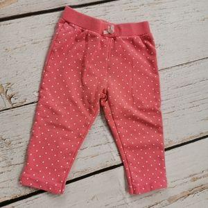 3/$10💜 Pink & White Polkadot Pants